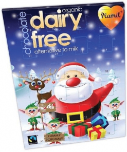 adventní vegansky kalendar cokolada cokoladovy ryzove mleko bio plamil mikulas advent