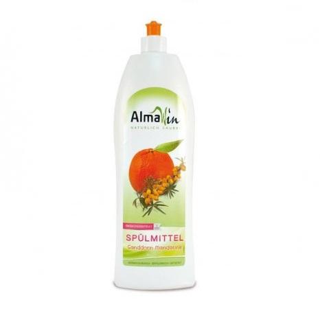 tekuty prostredek nadobi bio rakytnik mandarinka almawin jar myti myci
