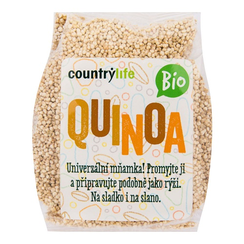 quinoa bio countrylife country life bez lepku bezlepkova obilnina veganobchod obchod veganfelicity felicity obed vecere univerzalni bio