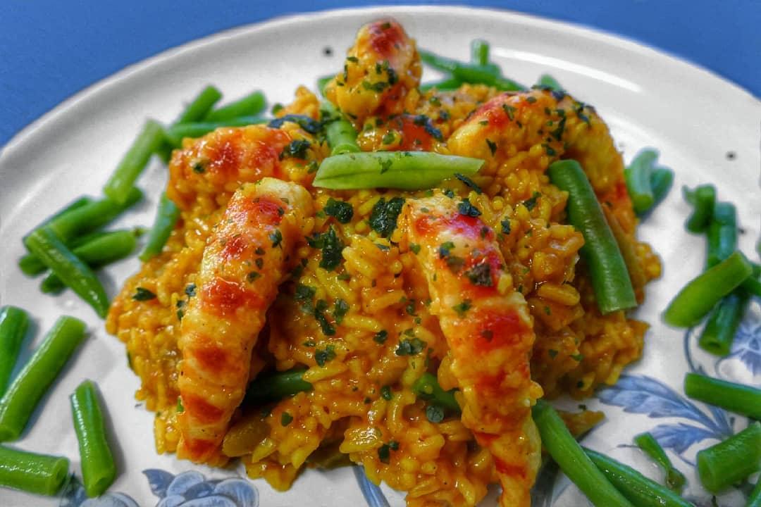 spanelska paella vegan krevety garnati vegan recept recepty veganobchod vegan obchod vegan felicity veganfelicity spanelsko