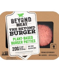 the beyond burger beyond meat burgr maso alternativa masa vegan pro vegany veganobchod obchod eshop veganeshop veganfelicity felicity vegansky burger leto grilovani vegan hovezi burger