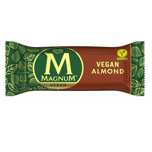 vanilkova vanilka mandlova zmrzlina magnum nanuk vegan magnum vegansky veganska nanuky zmrzliny leto vegan almond magnum cuc na klade mandle veganobchod veganfelicity felicity veganeshop vegan eshop osvezeni mandlemi