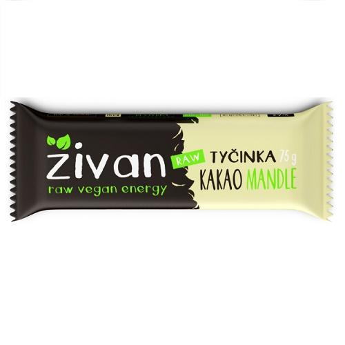 zivan raw tycinka kakao mandle bez lepku bezlepkova bezlepkove vegan obchod veganobchod vegan felicity veganfelicity vitarian kakaova raw vegan energy bez cukru energie natur