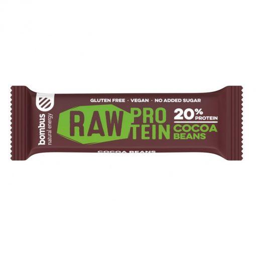 Bombus Raw Protein Cocoa Beans Tycinka kakaove boby bombus raw protein peanut butter proteinova tycinka veganobchod veganfelicity dmhermes vegan felicity fitness vitarian energie
