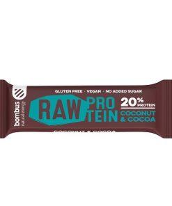 coconut cocoa kokos kakao Bombus Raw Protein Cocoa Beans Tycinka kakaove boby bombus raw protein peanut butter proteinova tycinka veganobchod veganfelicity dmhermes vegan felicity fitness vitarian energie