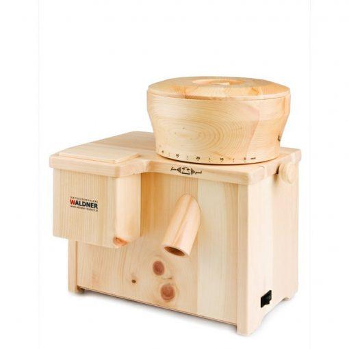 kamenny mlynek na obili vlockovac elektricky mleti waldner biotech combi star borovice vitarian raw strava vegan mouka
