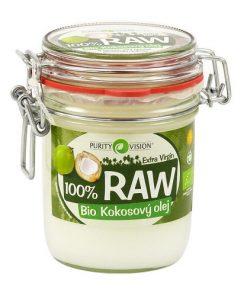 raw panensky kokosovy olej bio purity vision kokosovy olej bio zdravy den bio kokos smazeni peceni vareni vegan obchod veganobchod vegan felicity veganfelicity biokokosak