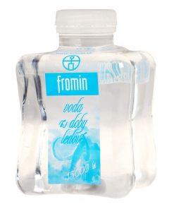 voda z doby ledove fromin napoj piti pitny rezim kazdodenni piti pramenita voda bez uprav
