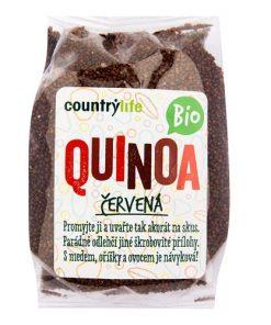 quinoa cervena bio quinoa countrylife country life bez lepku bezlepkova obilnina veganobchod obchod veganfelicity felicity obed vecere univerzalni