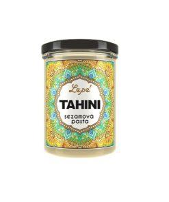 tahini sezamova pasta lepe foods falafel arabske jidlo pomazanka pomazanky seminkova pasta maslo zalivka sala salatu vegan obchod veganobchod vegan felicity veganfelicity
