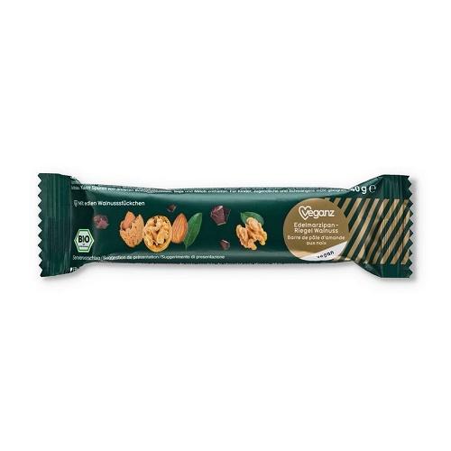 marcipanova tycinka s orechy bio veganz marcipan orech vlasske biokvalita vegan obchod veganobchod veganfelicity vegan felicity mikulas vanoce sladkosti bez lepku bezlepkova bezlepkove