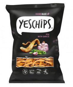 chipsy hrachove s cesnekem yes chips vegan obchod veganobchod vegan felicity veganfelicity silvestr oslava party veggie bez lepku bezlepkove snack hrach slane mak ceska republika cesnek cesnekove