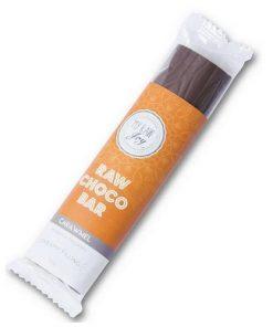 tycinka cokoladova karamel raw bio my raw joy cokolada s cokoladou nugatova nugat vitarian vegan obchod veganobchod vegan felicity veganfelicity gourmet nugatova napln biokvalita raw bio s karamelem karamelova