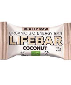 tycinka lifebar mini kokos bio lifefood kokosova biokvalita bez lepku bezlepkova vegan obchod veganobchod vegan felicity veganfelicity energy paleo orech orechy