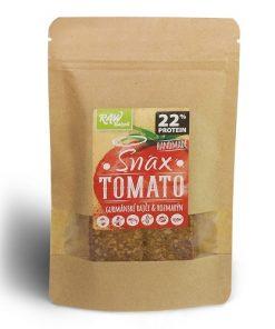 snax tomato rajce rozmaryn raw bakers chlebova chut protein bilkoviny chleb krekr bez lepku bezlepkove pecivo rajcatova rozmarynova rajcatove