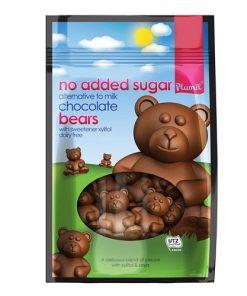cokolada mlecna medvidci plamil cokoladovi medvidci vegan obchod veganobchod vegan felicity xylitol bez cukru veganska cokolada medved