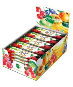 Dr.Light Fruit Tyčinka Rakytník PRE + PROBIOTIKA ovocná tyčinka s rakytníkem je bezlepková a s probiotiky