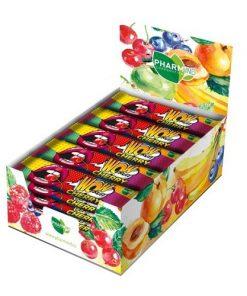 pharmind tycinka wow fruit visen visnova vegan bezlepkova tycinka s ovocem bez lepku