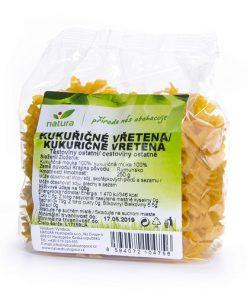 testoviny kukuricne vretena musle natura vegan veganobchod vegan felicity veganfelicity bezlepkova dieta celiakie kukurice
