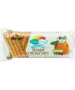 Bioveri Sezamky s Příchutí Pomeranče BIO pomeranc pomerancove placicky sezam