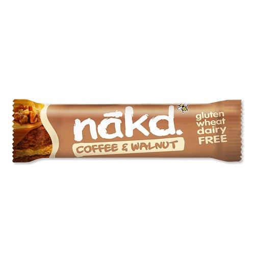 Nakd Tyčinka Coffee & Walnut káva kafe vlašské ořechy