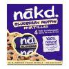 Nakd Tyčinky Blueberry Muffin Multipack borůvky borůvkový