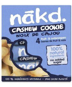Nakd Tyčinky Cashew Cookie Multipack kešu oříšky
