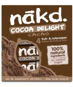 Nakd Tyčinky Cocoa Delight Multipack kakaová tyčinka