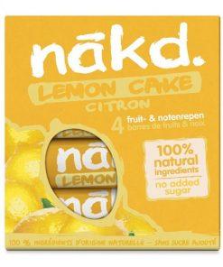 Nakd Tyčinky Lemon Cake Multipack citron citronove arasidy