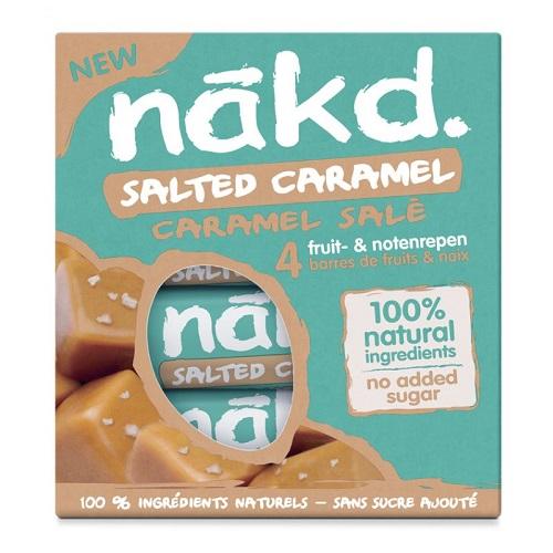 Nakd Tyčinky Salted Caramel Multipack