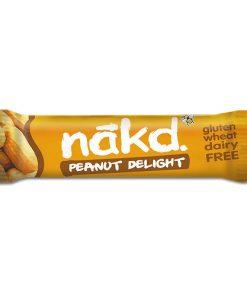 Tyčinka Peanut Delight Multipack Nakd arašídová