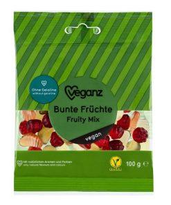 Veganz Bonbóny Gumové Ovocné s ovocnou příchutí bez želatiny želé