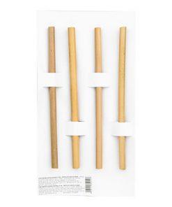 Hedsor Bambusová Brčka 4 ks bambus bambusové brčko