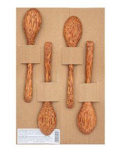 Hedsor Lžičky Kokosové Dřevo 19 cm 4 ks kokos lžička