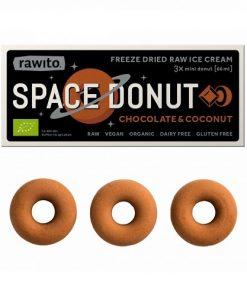 Rawito Space Donut Chocolate Coconut BIO čokoláda kokos