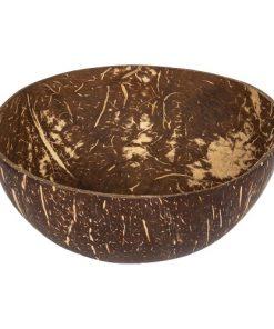 Kokosová miska čistá z kokosoveho orechu snidane