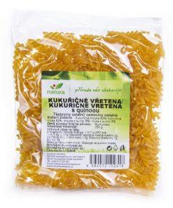 Natura Těstoviny Vřetena Kukuřice Quinoa bezlepkove bez lepku
