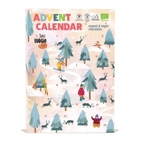 Super Fudgio Adventní Kalendář Čokoláda BIO 100 g