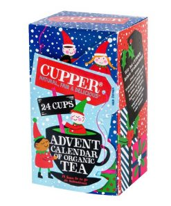 Cupper Čaj Advent Calendar BIO 48 g