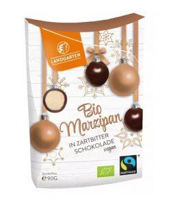 Landgarten Marcipán v Hořké Čokoládě BIO 90 g