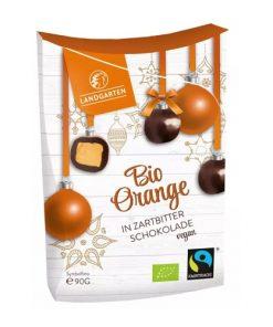 Landgarten Pomeranče v Hořké Čokoládě BIO 90 g