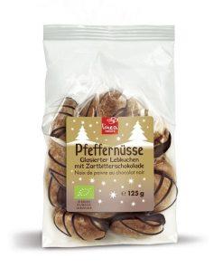Linea Natura Perníčky Pepřové s Čokoládou BIO 125 g
