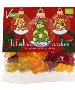 Mindsweets Gumoví Medvídci Vánoční Koule BIO 75 g
