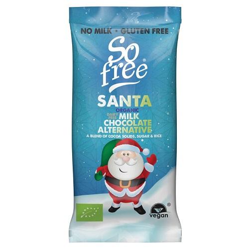 Plamil Čokoláda Mléčná Santa BIO 20 g