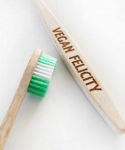 Vegan Felicity Zubní Kartáček Bambusový 1 ks