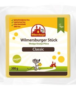 Wilmersburger Rostlinný Sýr Bloček Klasik 300 g
