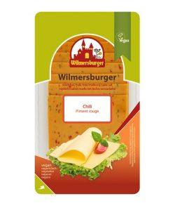 Wilmersburger Rostlinný Sýr Plátky Chilli 150 g