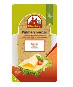 Wilmersburger Rostlinný Sýr Plátky Paprika 150 g