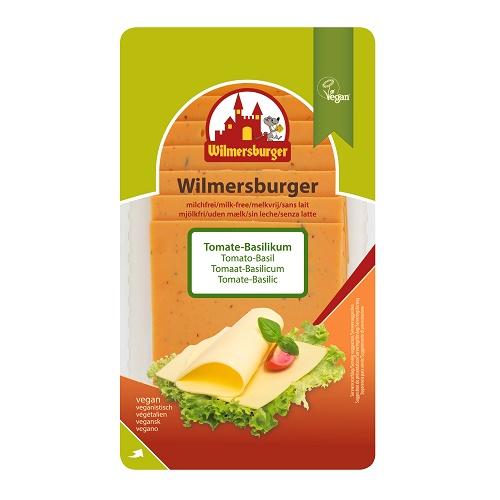 Wilmersburger Rostlinný Sýr Plátky Rajče Bazalka 150 g