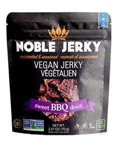 Noble Vegan Jerky Příchuť Sweet BBQ 70 g